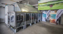 Stadtwerk Haßfurt Power-to-Gas Elektrolyse Skid